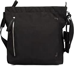 (S, Black/Silver) - Crumpler Doozie Photo Shoulder S DZPS-S-007 Photo Sling Bag with 25cm Tablet Compartment and Removable Camera Pouch Black/Metallic Silver