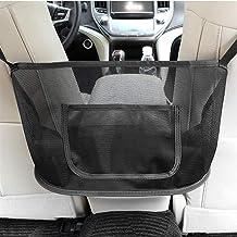 HENXING Car Net Pocket Handbag Holder Universal Car Accessories Storage and Handbag Holding Net, Hanging Storage Bag Between Car Seats, Barrier of Backseat Pet Kids