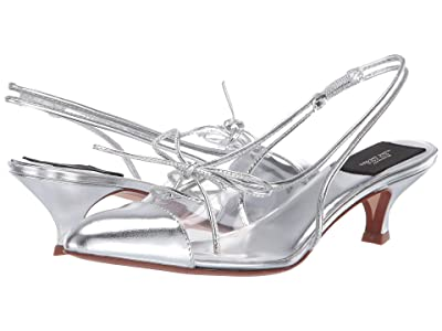 Marc Jacobs 40 mm Slingback Pump w/ Toe Cap (Clear) Women