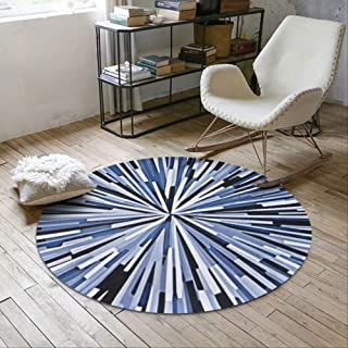 Area Rugs Carpets Geometric Splash Abstract Round Carpet Home Decor Bedroom Carpet Computer Chair Rug Home Entrance Doorma...