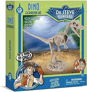 Uncle Milton Dr. Steve Hunters-Dino Dig Excavation Kit Scientific Toy