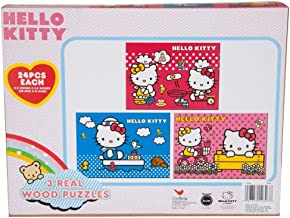 Hello Kitty Puzzle Wood 3 Pack