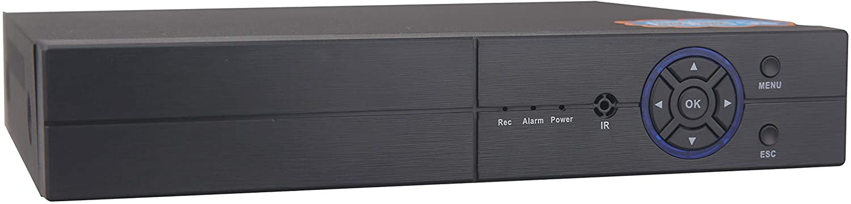 16CH 1080P Lite 5-in-1 HD Analog Hybrid DVR&NVR Support 1080P IP Camera+1080P AHD/TVI/CVI Camera and 960H Analog Camera Standalone DVR CCTV Surveillance Security System Video Recorder (No HDD)
