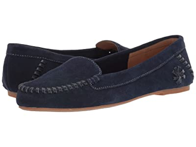 Jack Rogers Millie Suede Moc (Midnight) Women