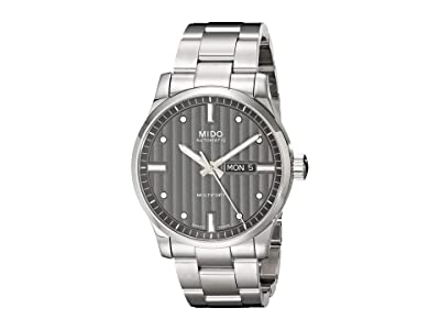Mido 42 mm Multifort Gent Automatic Stainless Steel Anthracite M0054301106180 (Silver) Watches