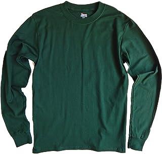 ヘインズ メンズ ビーフィー 長袖tシャツ 5186