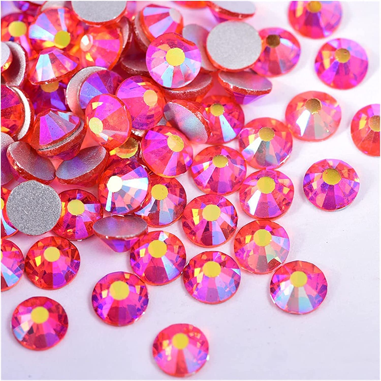 CHUNMA Mix Size Crystal AB Flatba Non Hotfix Rhinestone Colorful Limited time Large-scale sale cheap sale