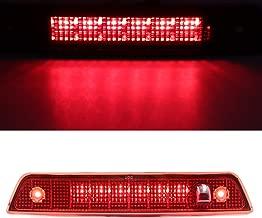 Third 3rd Brake/Cargo Light,Rear Roof Center High Mount Stop Light for 2005-2010 Jeep Grand Cherokee (Red)