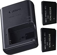 Canon LC-E12 Charger for Canon LP-E12 Li-ion Battery compatible with Canon EOS -M,EOS-M2, EOS -M10 Rebel SL1, EOS 100D Mirrorless Digital +2 Bonus Battery!