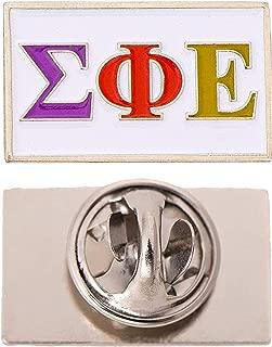 Scotty Sigma Phi Epsilon Fraternity Letter Lapel Pin Enamel Greek Formal Wear Blazer Jacket sig ep