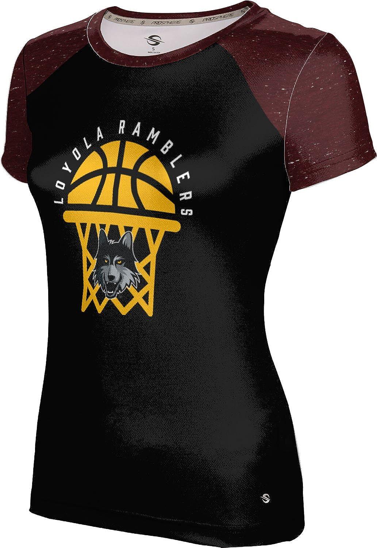 ProSphere Loyola Chicago Basketball Girls' Performance T-Shirt (Raglan)