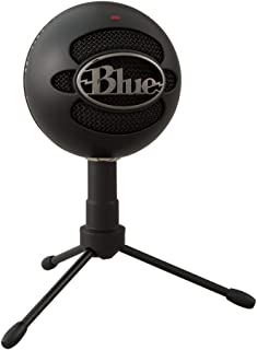 Blue Snowball iCE USB Mic for Recording and Streaming on PC and Mac, Cardioid Condenser Capsule, Adjustable Stand, Plug an...