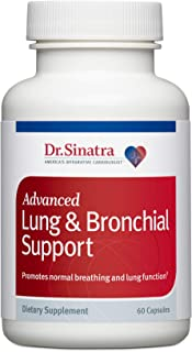 Dr. Sinatra's Advanced Lung & Bronchial Support Supplement for Lung Health Support, Clear Breathing and Respiratory Functi...