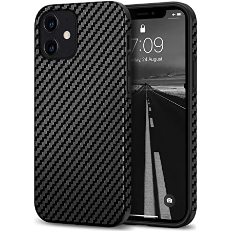 Tasikar Kompatibel Mit Iphone 12 Mini Hülle Carbon Elektronik