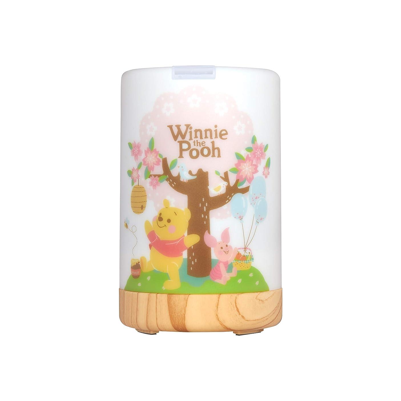 敬な協力くるみInfoThink アロマディフューザー Disney Winnie the Pooh 間接照明 くまのプーさん [並行輸入品]