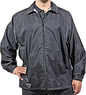 Udder Tech Waterproof Jacket, Small, Full Zip, Black