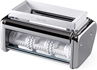 Marcato Ravioli Cutter Attachment, Made in Italy, Works with Atlas 150 Pasta Machine, 7.25 x 4.5-Inches, Silver