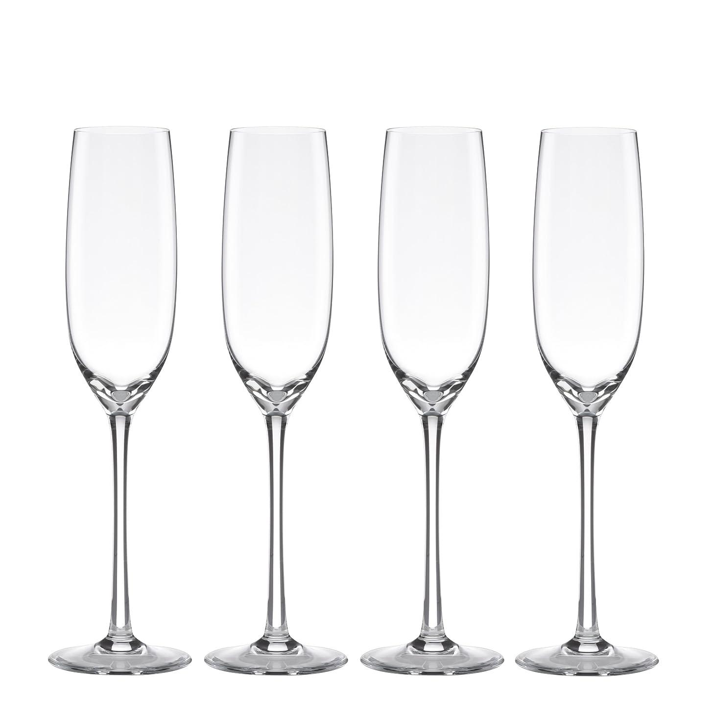 Lenox Tuscany Classics Fluted Champagne Glassware, Set of 4