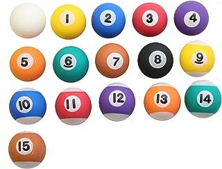 rubber billiard balls