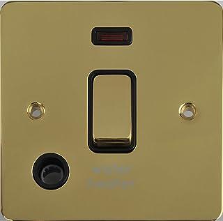 Schneider Electric GU2214WHBPB interruptor eléctrico Negro - Accesorio cuchillo eléctrico (Negro, IP20, 20 A, 88 mm, 88 mm)