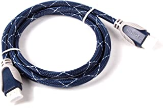 DURAGADGET Cable HDMI De Audio Y Vídeo para Receptores TDT Energy Sistem TDT HD3 | TDT T3300 | TDT2 QVIART | Engel Axil RT6100T2 | HD-T2 | Sveon SDT8300M - 1.4m - Conexiones Chapadas En Oro HD