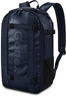 Gonex Laptop Backpack Travel Daypack Carry On Bag Fits 15.6 Inch Laptop Navy