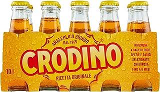 Crodino: non-alcoholic bitter aperitif, produced since 1964 - 10 x 100 ml