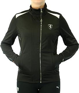PUMA Women's Ferrari Front-Zip Track Jacket