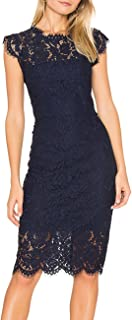 Best navy lace dress for wedding guest Reviews