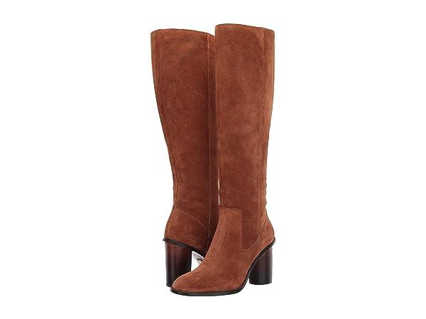 COACH Ombre Heel Boot - Suede