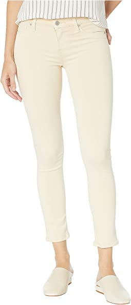 Tally Mid-Rise Crop Skinny Jeans in Fawn