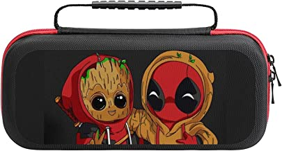 $20 » Groot Red Movie Bag, Switch Travel Carrying Case for Switch Lite Console and Accessories, Shell Protective Cover Organizer...