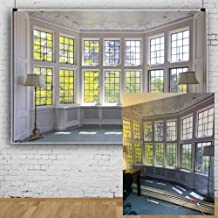 AOFOTO 7x5ft Classic French Pane Bay Windows Backdrop Luxury Retro Interior Decoration Floor Lamps Photography Background New Life Furniture Home Lifestyle Estate Modern Residence Photo Studio Props