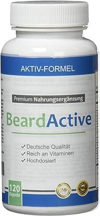 Beard Active® - per la crescità della barba - 100% naturale– Migliora la tua barba!