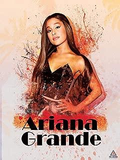777 Tri-Seven Entertainment Ariana Grande Poster Wall Art Print (18x24)