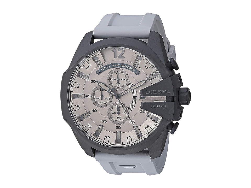 Diesel Mega Chief - DZ4496 (Gray) Watches