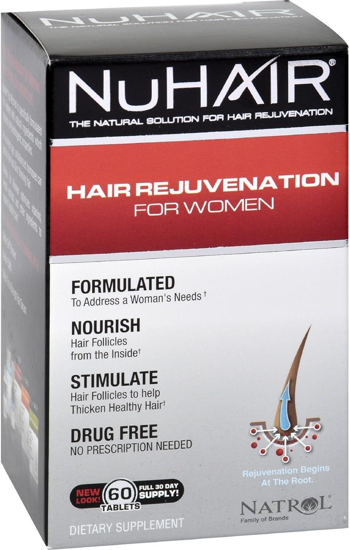 Special sale item Natrol Hair New life Regrowth - 60 Tablets NuHair Women
