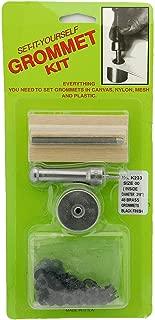 """C.S Osborne Set-It-Yourself Grommet Kit K231-1 W// Nickel Grommets 9//32/"""" Hole"""