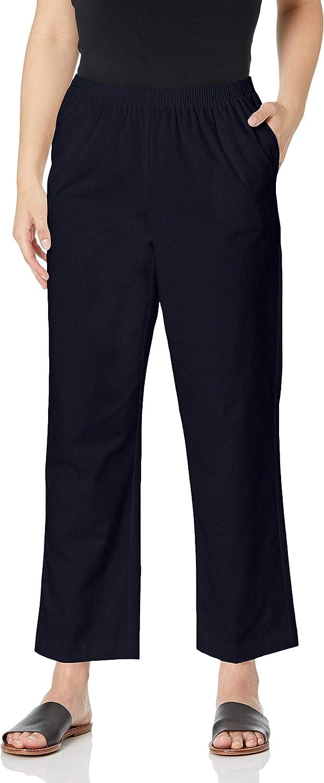 Alfred Dunner Pull-on Pants Navy 16 Short