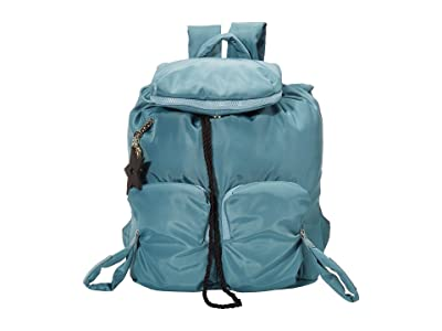 See by Chloe Nylon Joyrider Backpack (Mineral Blue) Backpack Bags