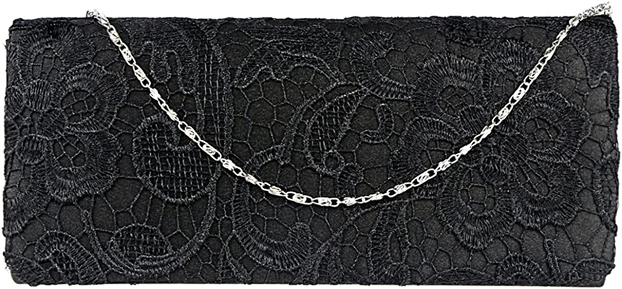 U-Story Women's Elegant Floral Lace Clutch Max 79% OFF Br Party Free Shipping Cheap Bargain Gift Evening Bags