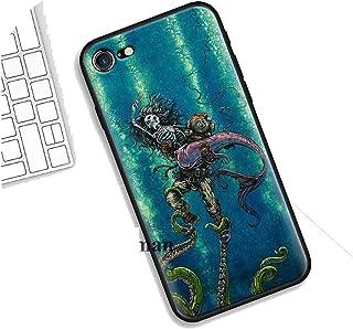 新しいトレンド for iphone X XS XR XSMax 7 8 6 6S 5C 5E 5S 5 Plus 8+ 7+ 6+ 6S + for iphone 11 Pro Max Cthulhu用シリコンケース,for iphone XR,B07