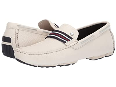 UGG Bel-Air Woven Stripe Slip-On (White) Men