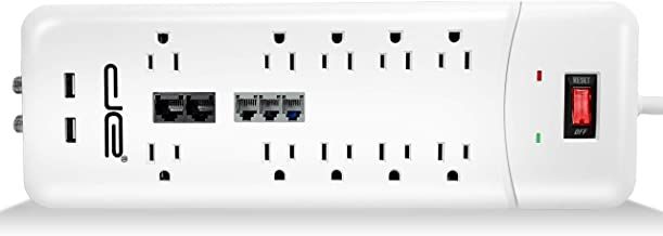 Best 6 outlet swivel surge protector Reviews