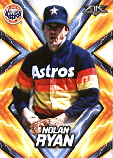 2017 Topps Fire #180 Nolan Ryan Houston Astros Baseball Card