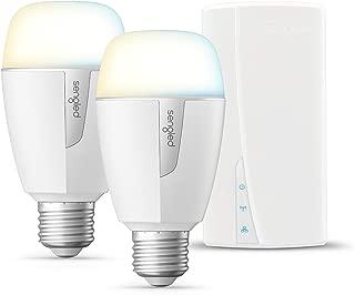 Sengled Smart LED Tunable White A19 Starter Kit, 60W Equivalent, 2 Light Bulbs & Hub, Soft White to Daylight 2700-600K, Works with Alexa & Google Assistant