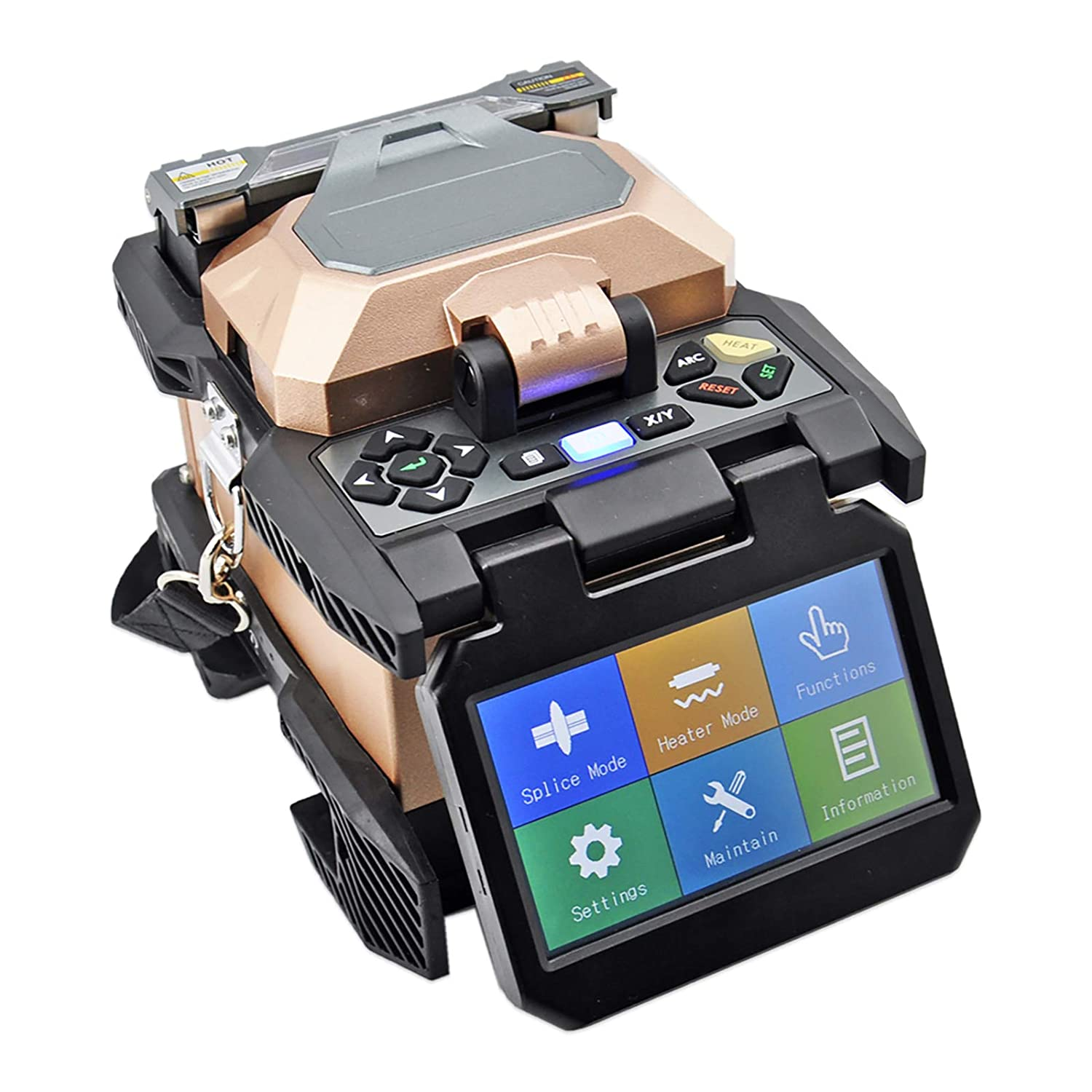 Fiber Optic Fusion Splicer Credence latest with 4.3-inch Optical F Touch Screen