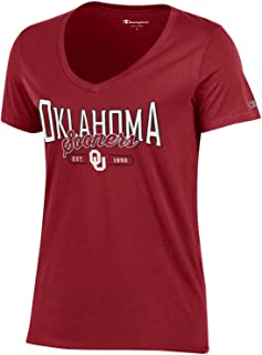 Champion Womens NCAA Women's University Basic V-Neck C5382-4-P