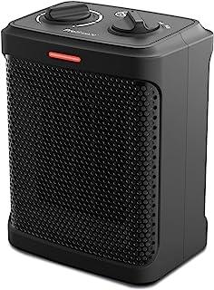Pro Breeze Calentador Cerámico 1500W con 3 Modos de Funcionamiento y Termostato Ajustable - Negro