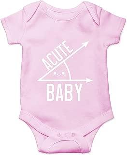 CBTwear Acute Baby - Math, Genius, Geek, Nerd - Shower Gift - Cute Infant One-Piece Baby Bodysuit